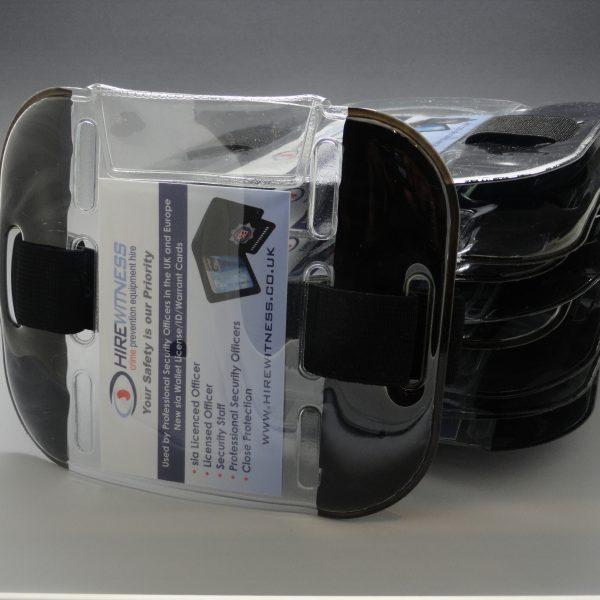 10 Black Tactical ID Arm Bands (HW401)