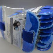 10 Blue Tactical ID Arm Bands (HW400)