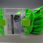 10 Green Tactical ID Arm Bands (HW406).