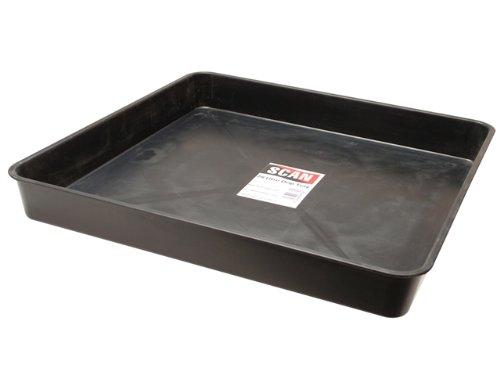 Black baggage search Tray (HW442)