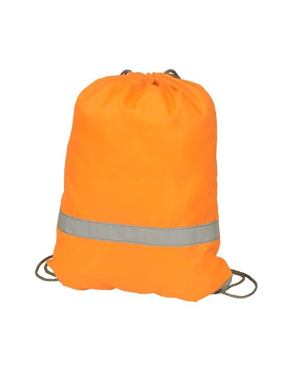(HVW069) Draw string bag Orange