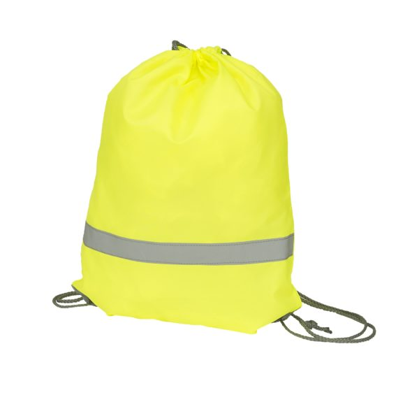(HVW069) draw string bag Yellow