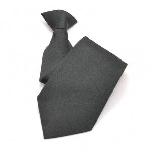 Black Clip On Tie (HW412)