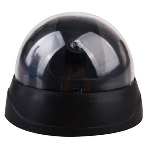 Dummy CCTV Security Camera Flashing Red LED