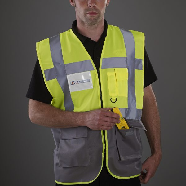 HVW801-Hi Vis Yellow-Grey