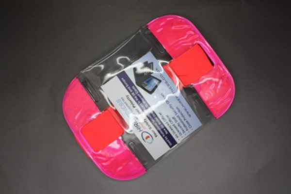SIA Pink Fluorescent Arm Identifier