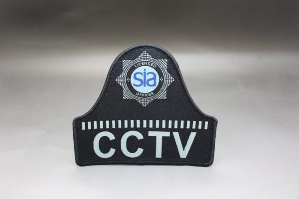 SIA LICENSED CCTV OFFICERS BELL SHAPE BADGE