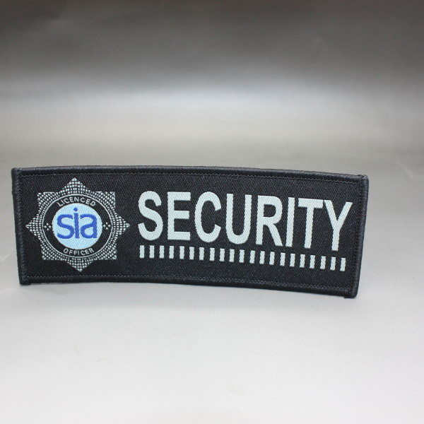 Vehicle Tracking Devices >> SIA SECURITY CLOTH BADGE (HW167 Blue) – Hire Witness ...