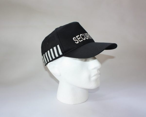UK SECURITY OFFICERS BASEBALL CAP HAT WITH DUTY STRIPE - (HW157 ... 6f08ba332d5
