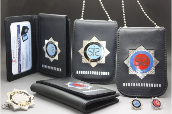 SIA BADGES & PIN HOLDERS
