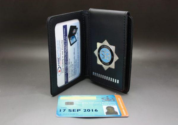 SIA LICENCE BLUE HOLDER / WARRANT CARD WALLET