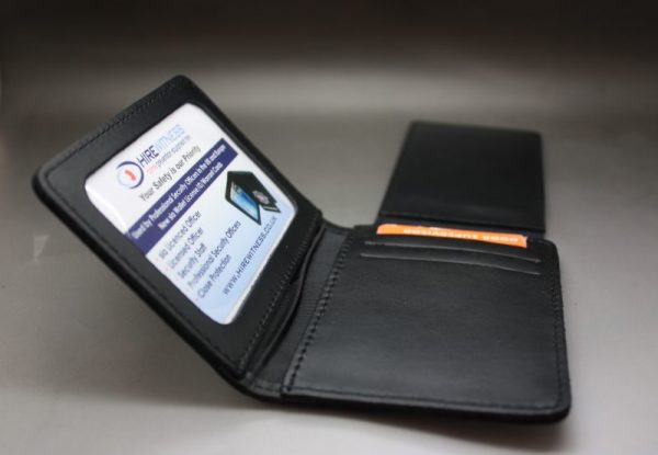 SIA LICENCE RED HOLDER /WARRANT CARD WALLET